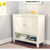 Kitchen Dining Storage Cabinet Sideboard Buffet in Antique White SAW519815