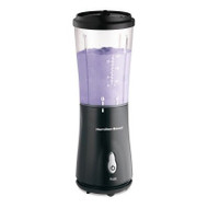 Personal Smoothie Blender with Travel Lid in Black by Hamilton Beach HB51101BPB