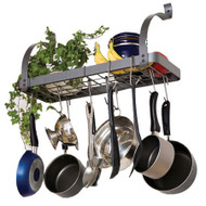 Wall Mounted Metal Kitchen Storage Shelf Pot Rack ERBPR6459