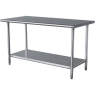 Stainless Steel Top Utility Table High Top Workbench Prep Table SHW13891-4