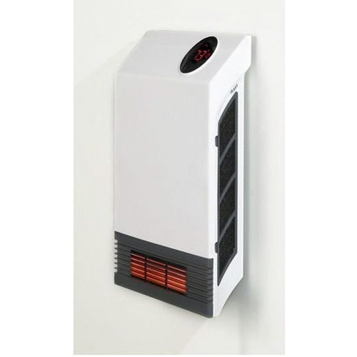 Energy efficient compact on wall infrared baseboard space for Electric radiant heat efficiency