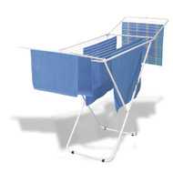 Durable Welded Steel Laundry Air-Drying Rack - Won't Chip or Rust WWVDW24991
