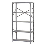Commercial Steel Freestanding 5-Shelf Unit with Rubber Feet ESC345215