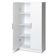 White Storage Cabinet Utility Garage Home Office Kitchen Bedroom PESC2295158