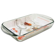 "2 Qt/8X11"" Baking Dish, Clr, Fire King 67521FK"
