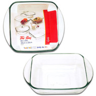 "Glass 8X8"" Baking Dish, Clr, Fire King 67522FK"