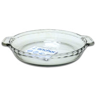 "Glass 9.5"" Deep Pie Plate 81214CB"