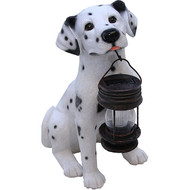 Dalmatian Dog Solar Light Lantern with Super Bright LED TDWSLL2949