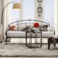 Twin Metal Daybed in Antique Dark Bronze Finish KHID34376