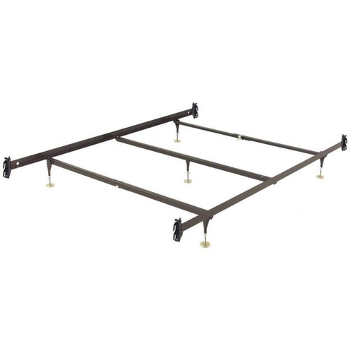 King Size Metal Bed Frame With Hook On Headboard Footboard