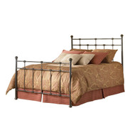 Full size Classic Metal Bed in Hammered Brown Finish FBGDBF272