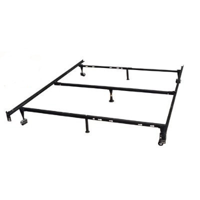 Heavy Duty 7-Leg Metal Bed Frame / Adjust to fit Twin