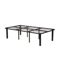 Twin XL size Metal Platform Bed Frame - No Boxspring Necessary HLTXL11951