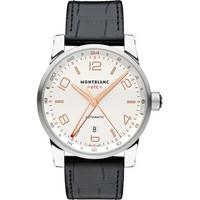 Montblanc TimeWalker Voyager UTC Steel Watch 109136