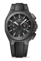 Girard-Perregaux Chrono Hawk Black Ceramic Men's Watch 49970-32-631-FK6A