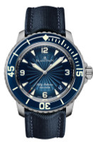 Blancpain 50 Fathoms Automatic Blue Steel Watch 5015D-1140-52B