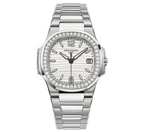 Patek Philippe Nautilus Diamonds WG WoWatch 7010/1G-011