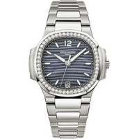 Patek Philippe Nautilus Automatic Diamonds Steel WoWatch 7018/1A-010
