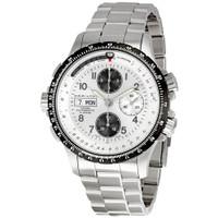 Hamilton X-Wind chrono silver dial