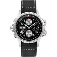 Hamilton X-Wind chrono black rubber