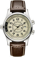 Hamilton Khaki Skymaster GMT ANTIMAGNETIC