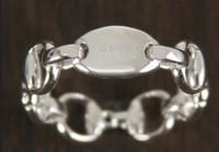 Gucci Horsbit Ring WG Size 54