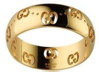 Gucci Bold Ring Gold Size 53