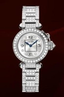 Cartier Miss Pasha (WG-Diamonds/ Silver- Diamonds/WG-
