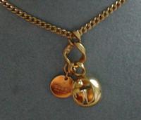 Gucci Boule Necklace Gold L. 50 cm