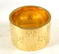 Gucci GG Ring Gold Size 54