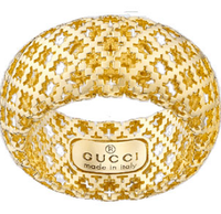 Gucci Diamantissima Anello oro Gold ring size 12