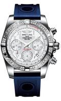 Breitling Chronomat 41 Steel Dia Bezel Ocean Racer Strap AB0140AA/A747