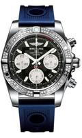 Breitling Chronomat 41 Steel Dia Bezel Ocean Racer Strap AB0140AA/BA52