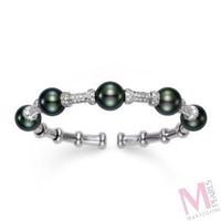 Mastoloni Signature Pave Bracelets BR2920B-8W