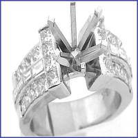 Gregorio 18K WG Diamond Engagement Ring H-543