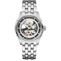 Hamilton Jazzmaster Viewmatic Skeleton Steel Watch H42555151