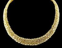 Almor Designs 64.04 Ct Pink Cut-corenered Rectangular Brilliant Diamond Necklace