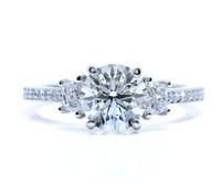 1.86 Cttw Round Brilliant Diamond Ring