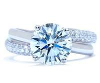 3.77 Ct Round Brilliant Diamond Ring