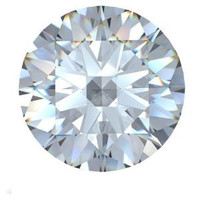 2.60 Ct. Round Brilliant Diamond H/si3