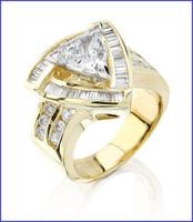 Gregorio 18K Yellow Diamond Engagement Ring R-137