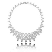 34.65ct 18k Diamond Necklace