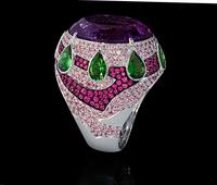Mousson Atelier Ladya Goldc Amethyst Ring R0045-0/5