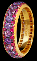Mousson Atelier Dorojka Collection Gold Sapphire Ring R0103-0/2