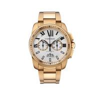 Cartier Calibre Chronograph RG Watch W7100047