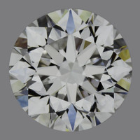 1.0 Carat D/VVS2 GIA Certified Round Diamond