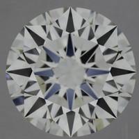 1.58 Carat E/VVS1 GIA Certified Round Diamond