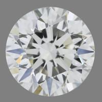 1.7 Carat F/VVS2 GIA Certified Round Diamond