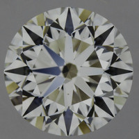 1.7 Carat G/IF GIA Certified Round Diamond
