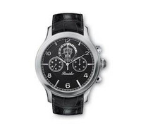 Pineider Crono Watch with Black Dial